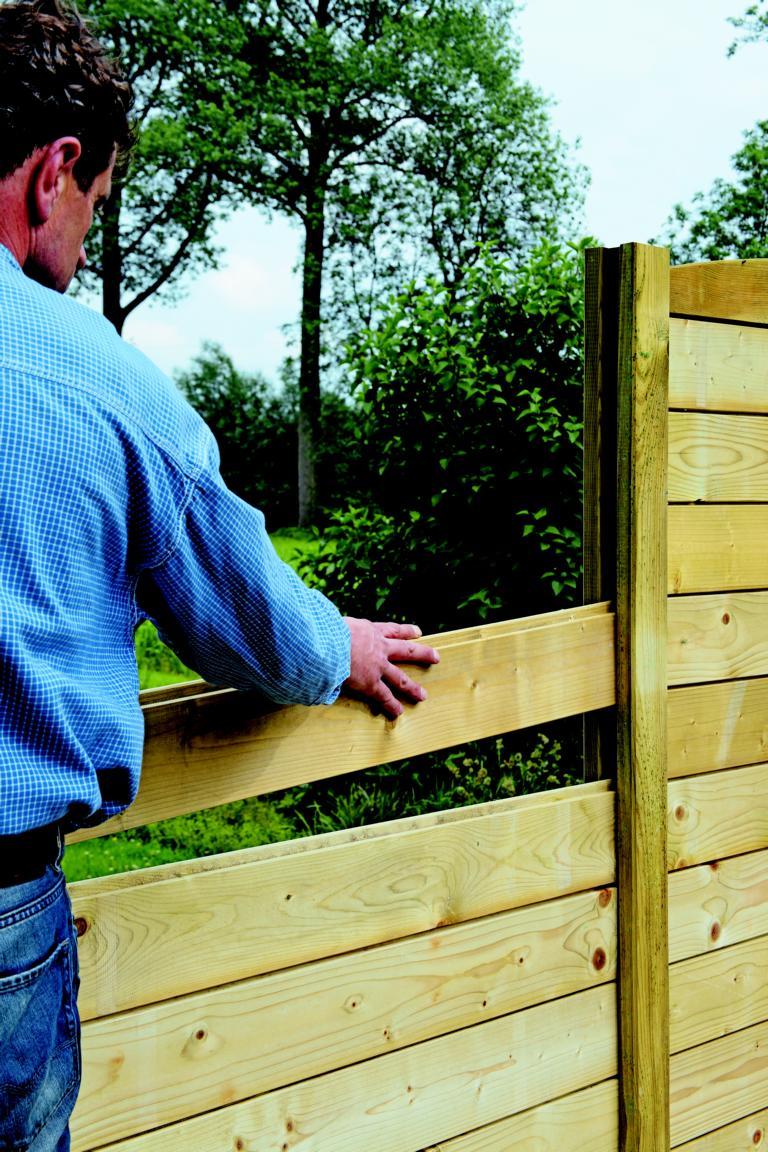 T&J Trelleborg-System kdi für Selbstbau-Zaun, Einzelteile