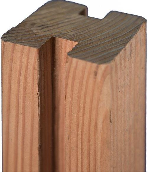 RIAD Douglasie-Pfosten 9x9x210 cm für Selbstbau-System von T&J