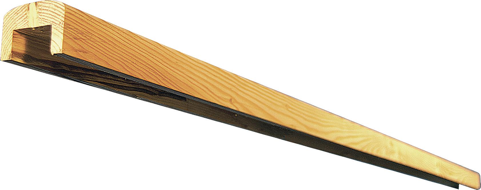 Abdeckleiste für Sichtschutz NEWA, 180 cm lang