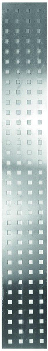 AALBORG Lochblech-Füllung 25 x 179 cm, Aluminium