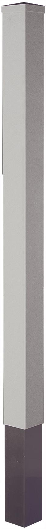 LIGHTLINE Kunststoff-Pfosten 9x9 cm mit Alu-Kern
